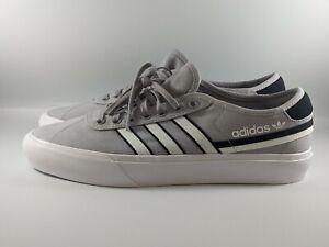 Adidas Originals Delpala Mens Shoes Size 10.5 Glory Grey/White/Black FV0637