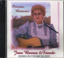 Precious Memories ~ Jean Barnes and Friends ~ Gospel ~ Folk ~ CD ~ Live ~ New