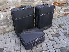 Roadsterbag Koffer-Set für Mercedes SLK R170 (bis 2004), schwarz, neue Version