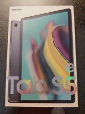 "SAMSUNG Galaxy Tab S5e SM-T720N (10.5"")64 Go Wi-Fi. NEUF, NOIR avec étui samsung"