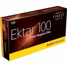 5 Rolls Kodak 120 PROFESSIONAL Ektar 100 Color Negative 8314098