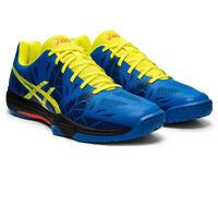 Asics Mens Gel-Fastball 3 Indoor Court Shoes - Blue Sports Squash Badminton