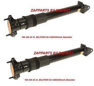 MERCEDES ML 164 320 24 31, BILSTEIN B4, 24-144834 Shock Absorber OEM REAR Set