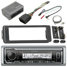 Harley 98-2013 FLHTC FLHX Installation Adapter Kit, Kenwood Bluetooth USB Radio