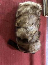Antique/Vintage Fur Hand Muff
