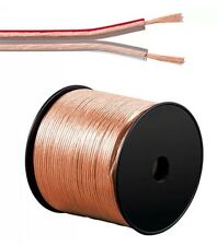 20M 2 X 4MM  LOUD SPEAKER CABLE  OXYGEN FREE COPPER CLAD ALUMINIUM WIRE