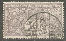 nederland  86 gestempeld  c.w.  €  20,00 Amsterdam 30-12-1906