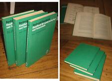 3x Handbuch für Landschaftspflege und Naturschutz Buchwald Engelhardt