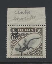 Liberia O50 1906 Agama Lizard Official w/ inverted center error, stamp Vf Nh