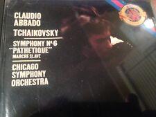 CLAUDIO ABBADO: Tchaikovsky Symphony No 6 Chicago Orchestra CD A