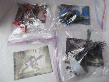 lot 3 Lego Bionicle figures 8589 manual 8590 Guurahk 8591 yorahk 8592 Turahk