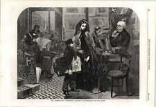 1862 sin nombre y agua Miss Osborne Exposición Internacional Textil MFR