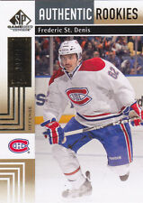 11-12 SP Game Used Frederic St.Denis /50 Rookie GOLD RC