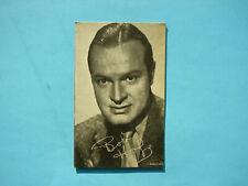 1947/66 TELEVISION & ACTORS EXHIBIT CARD PHOTO BOB HOPE SHARP!! EXHIBITS