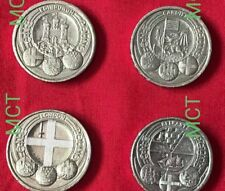 FULL SET & Separate 1 Pound Coin Capital City London Belfast Cardiff​ Edinburgh