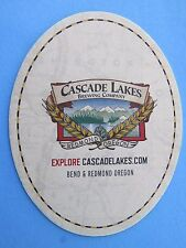Beer Coaster: CASCADE LAKES Brewing Co ~ Bend & Redmond, OREGON ~ Opened in 1994