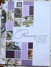 """My PRIMA Place """"Vol 3 Book"""" - 31 Pages Plus 2 Pages of Dbl Sided Paper"""