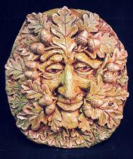 Oak Greenman Plaque by Summerisle, Green man,wiccan,pagan, Acorn
