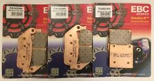 EBC Sintered FRONT and REAR Brake Pads for Suzuki GSF600 Bandit (1995 to 1999)