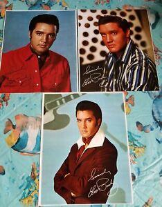 Elvis Presley: Flaming Star,Speedway, From Elvis in Memphis Bonus Photo Lot of 3