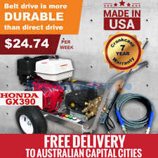 High Pressure Washer Petrol Water Pump Cleaner Belt-Driven Electric Start 1528E