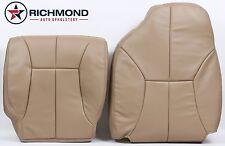 1999 Dodge Ram 2500 SLT Quad-Cab -Driver Side Complete Leather Seat Covers Tan