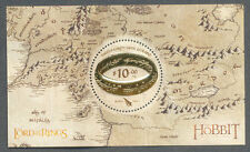 New Zealand-Lord of the Rings-Hobbit min sheet mnh 2016(Oct)Tolkien