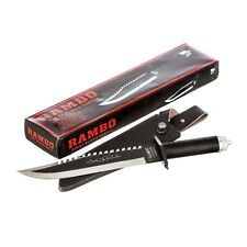 RAMBO II FIRST BLOOD Hunting Survival multi-function Signature Knife John Rambo
