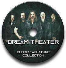 DREAM THEATER PROGRESSIVE METAL ROCK GUITAR TABS TABLATURE SONG BOOK SOFTWARE CD