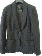 Guess Black Lace Jacket Blazer Size XS NWT