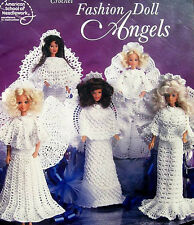 Crochet  Fashion Doll Angels  Patterns ASN