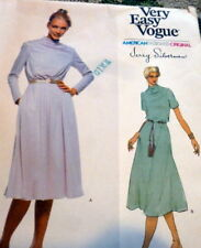 *VTG 1970s DRESS VOGUE DESIGNER JERRY SILVERMAN  Sewing Pattern 12/34 FF