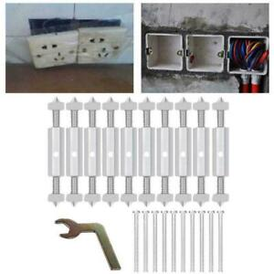 10 Pcs Switch Repair Wall Mount Box Cassette Electricity Tool Sales  Rod