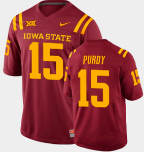 Iowa State Player Jersey - Purdy, Hall - Choose Color and Size