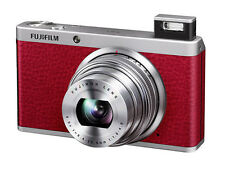 Fujifilm XF1 Digital Camera-Red (12MP, 2/3 inch EXR-CMOS Sensor, 4x Optical Zoom