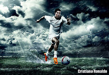 014 HIGHT QUALITY POSTER AMAZING SOCCER PLAYER CRISTIANO RONALDO
