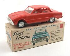 Vintage AMT 1:25 1960 Ford Falcon Dealer Promo Model Car * BOXED *