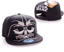 Star Wars Darth Vader Mask Baseball Hip Hop Cap Kappe Mütze Snapback Schwarz