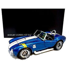 KYOSHO 1:18 SHELBY COBRA 427 S/C WITH YELLOW STRIPES 08045BLY
