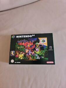Banjo Kazooie N64 Nintendo 64 Game Mint Collectors Condition Boxed