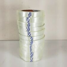 (12-Rolls) Shurtape Filament Strapping Reinforced Tape - 3/8 inch x 60 yds.
