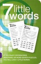 7 Little Words by Christopher York and Blue Ox Technologies Ltd. Staff (2013,...