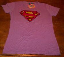WOMEN'S TEEN DC COMICS SUPER GIRL T-shirt XL NEW w/ TAG  WONDER WOMAN SUPERMAN