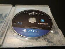Monster Hunter World PS4 in Iceborne Master Edition SteelBook - Please read desc
