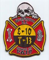 District of Columbia Fire Department DCFD Engine 10 Truck 13 Patch Washington DC