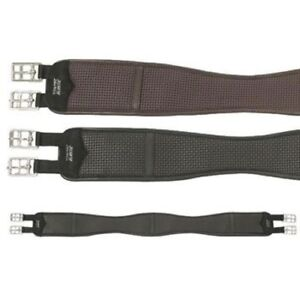 Wintec Chafeless Shaped Elastic Girth, Black or Brown All Sizes Soft & Durable