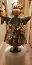 Primitive Collectible Madeline Butterfly Doll Ooak (Confounded Concoctions)