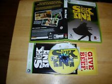 Sneak King Burger King game for the XBox and XBox 360 US. NTSC 2006 King Games