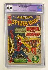 AMAZING SPIDER-MAN #15 Marvel 1964 CGC 4.0 Kraven the Hunter 1st Appearance