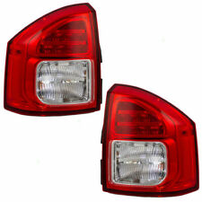 FOR JEEP COMPASS 2011 2012 2013 TAIL LAMP LED RIGHT & LEFT 5182542AC / 5182543AC